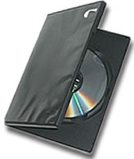 Slim DVD Case - Black