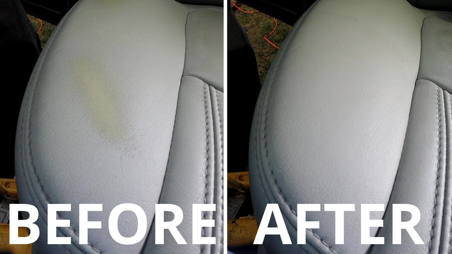 How to dye automotive leather with Luxury Leather Repair dye