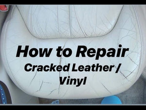 HOW TO REPAIR CRACKED/CREASED AUTOMOTIVE LEATHER