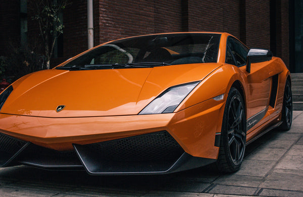 Orange AutoLeatherDye Lambo