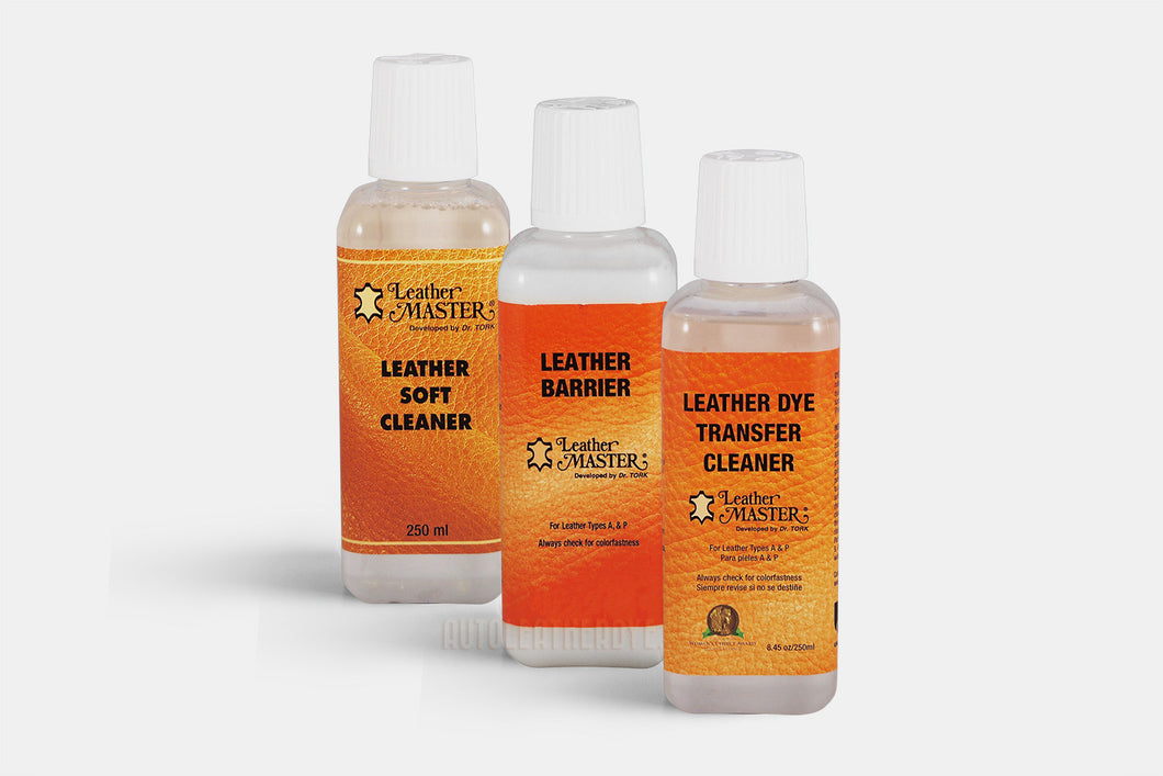 Leather Master Dye Transfer Cleaner Bundle