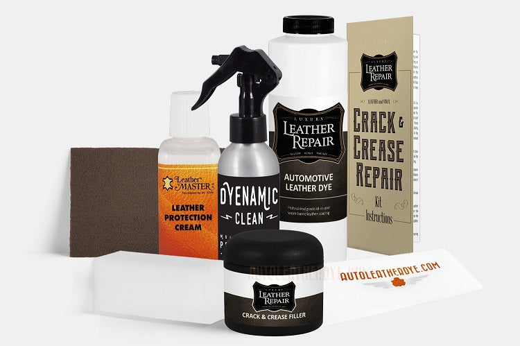 Automotive Leather & Vinyl Crack/Crease Repair Kit