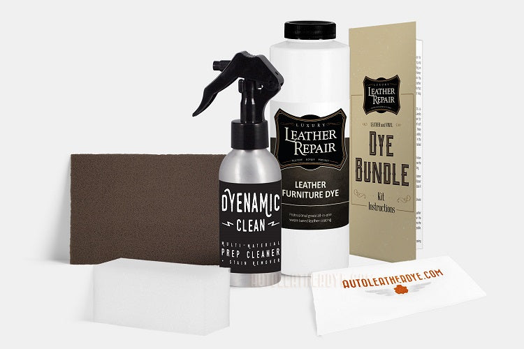 Leather & Vinyl Furniture Dye Bundle