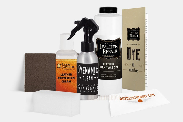 Leather & Vinyl Furniture Dye Kit