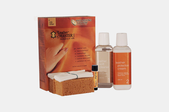 Leather Master Maxi Cleaning Kit with Ink Away