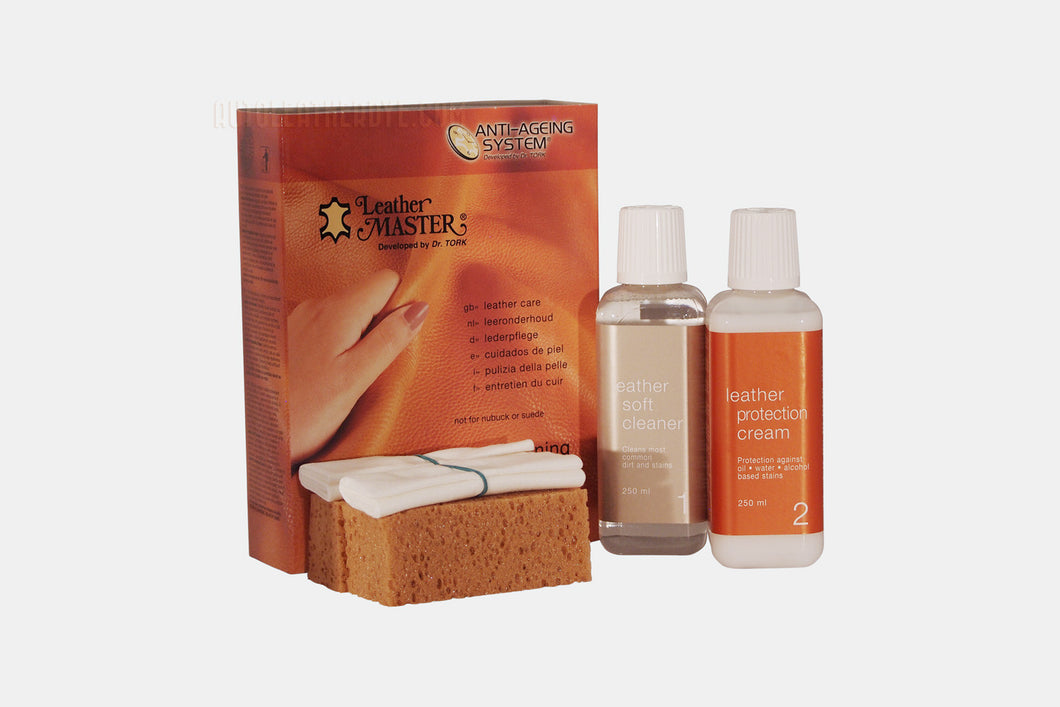 Leather Master Maxi Cleaning Kit 250ml Autoleatherdye