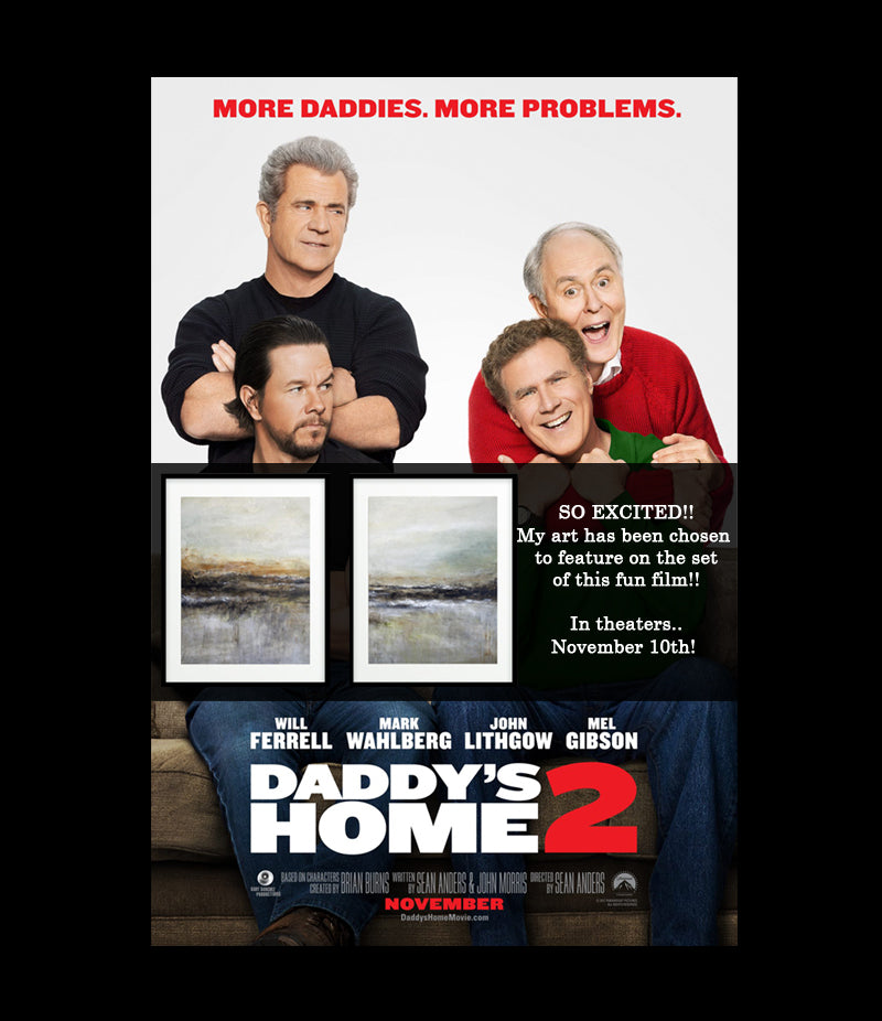 "Artwork featured In Paramount Pictures ""Daddy's Home 2"""