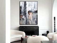 Urban Style original abstract painting by bethany sky whitman