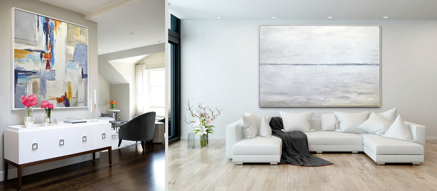 Modern Abstract Paintings and Large Contemporary Art by Sky Whitman ...