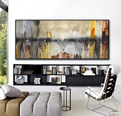 Chaotic Calm style originalted by bethany sky whitman abstract art contemporary painting urban grunge