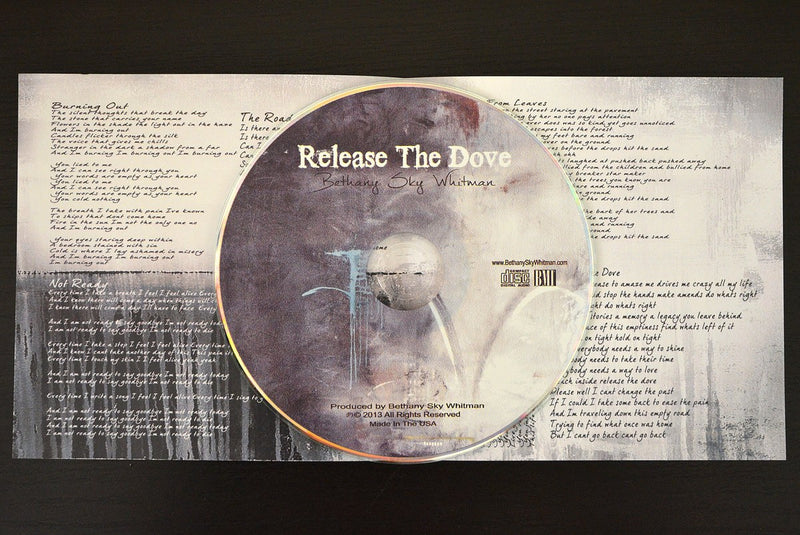"""Release The Dove"" Music CD EP by Bethany Sky Whitman Includes Free Shipping"