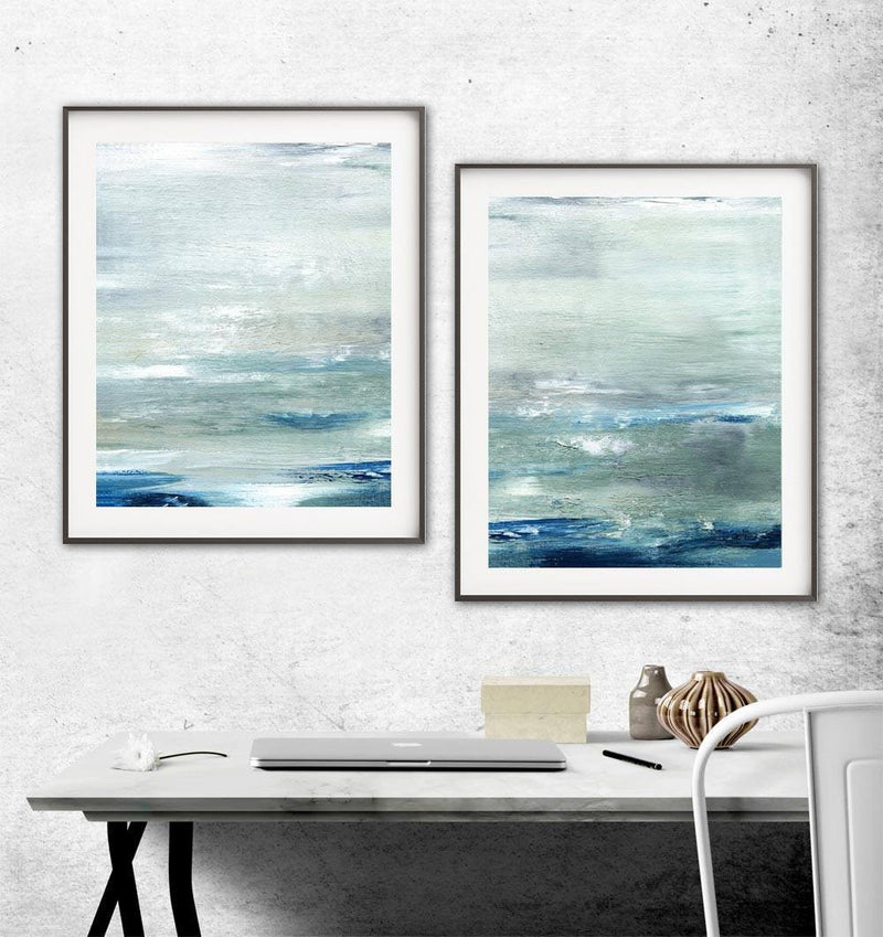 XXL digital download artwork abstract prints diptych wall art