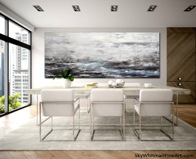 huge wall art panoramic painting