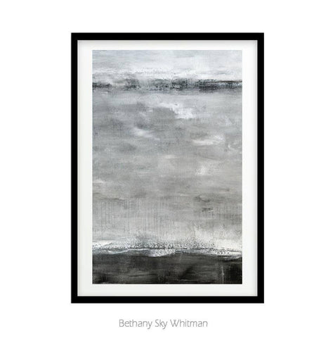 """Flying Higher"" 20x30 Large Gray Print Digital Download Art Digital Abstract Print Minimalist Painting Instant Download Wall Decor Urban Interior Design"