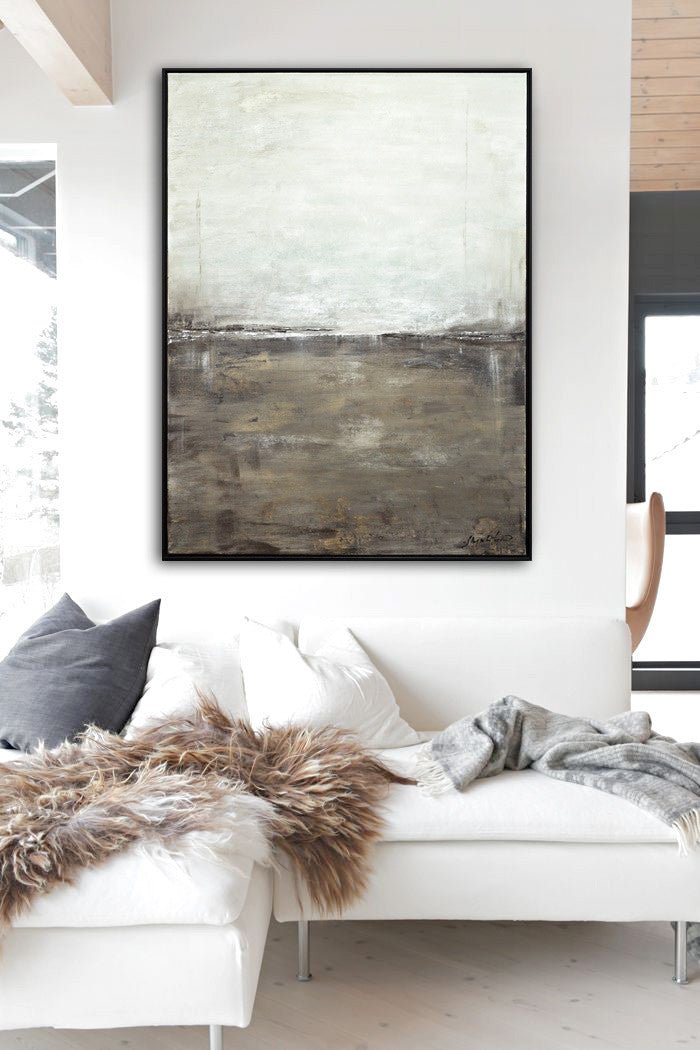 contemporary large landscape painting wall art