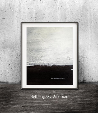 """The Rising"" Black And White Large Digital Art Print Minimalist Print Abstract Print Digital Download Instant Download Print"