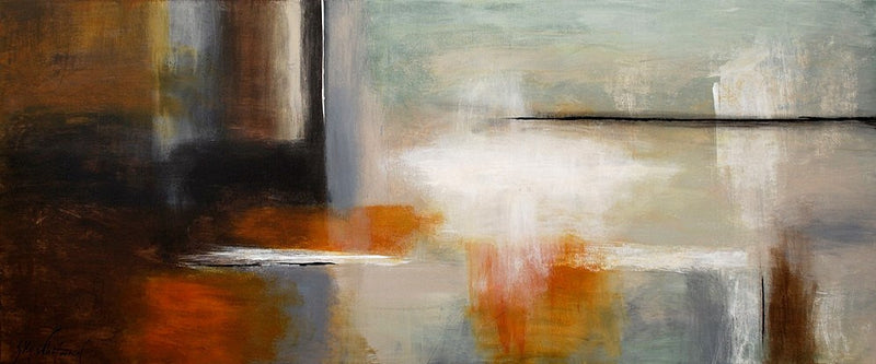 Large 6ft painting modern art six foot 72 inches contemporary art Bethany Sky Whitman