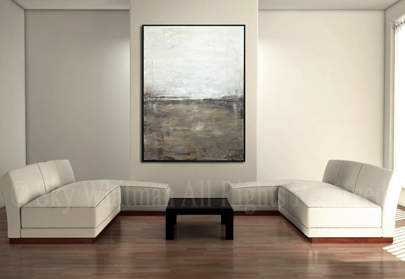 30 x 40 big landscape painting wall art canvas fine art Sky Whitman