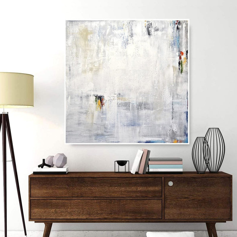 square abstract painting original artwork