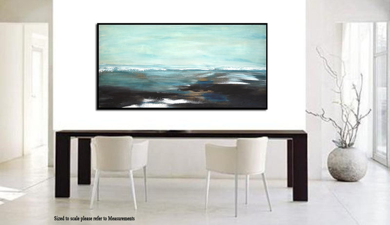 """It Will Always Be"" Landscape Oil Painting Abstract Artwork"