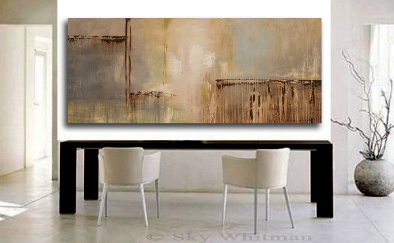 Huge 6 Ft Abstract Contemporary Painting