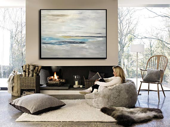 30x40 abstract painting design gallery art