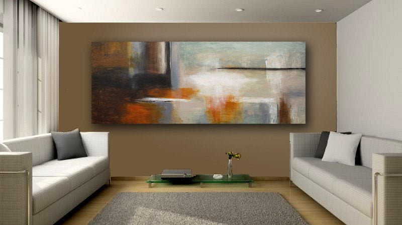 Huge 6 Foot Abstract Contemporary Painting