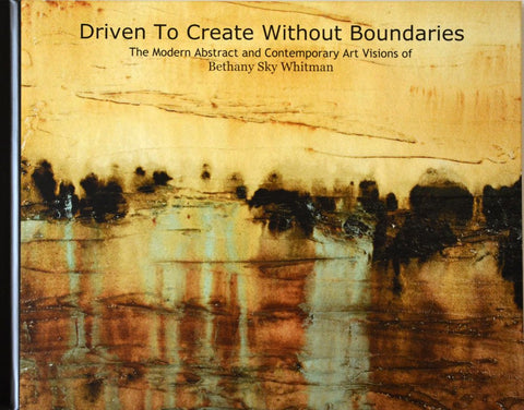 """Driven To Create Without Boundaries"" Hard cover art book"