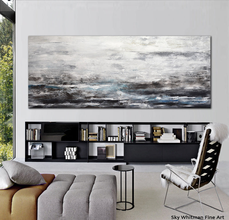 landscape style painting hug abstract artwork whitman