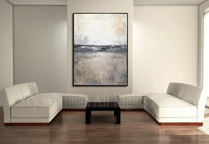 Urban, canvas, modern, 30 x 40, original, abstract painting