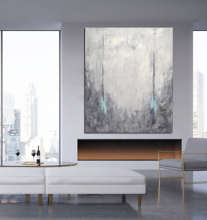 modern design abstract painting gallery whitman