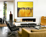 Yellow Amber Textured High Gloss Diepte Kleur Abstract Painting Made To Order ~SIMILAR CAN BE RECREATED