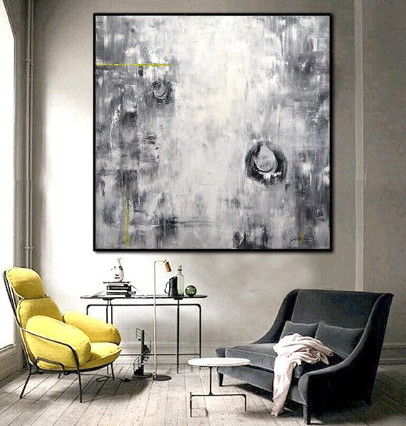 """Interpretations"" Large Original Abstract Painting"
