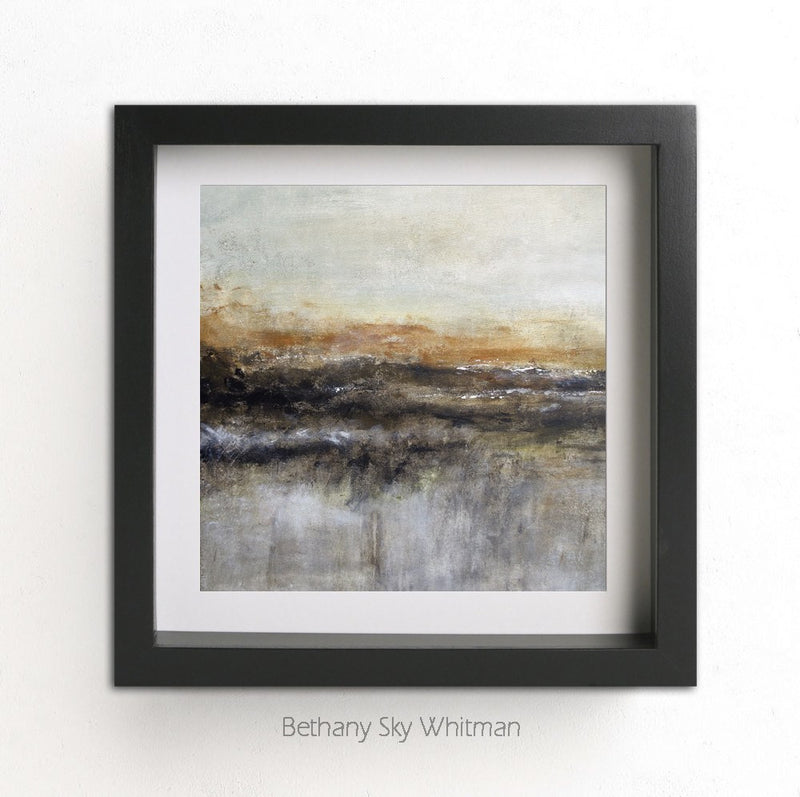 Abstract landscape print digital download instant printable art