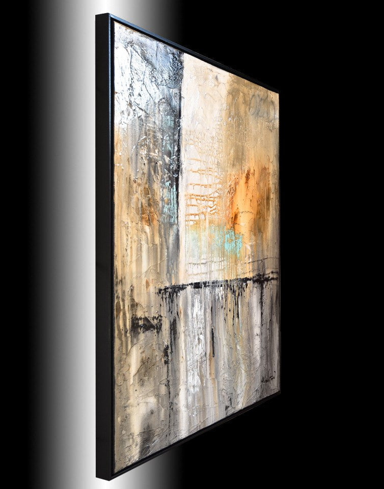 Large paintings for sale abstract art modern art framed wall art Bethany Sky Whitman