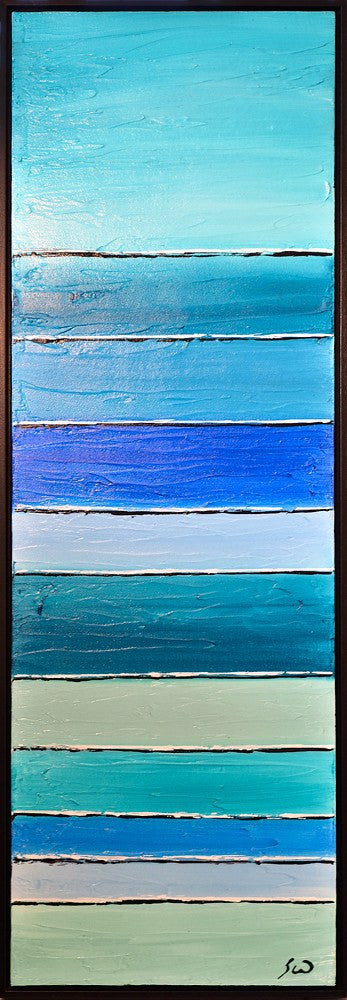 original blue painting abstract art for sale Bethany Sky Whitman