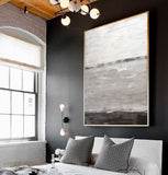 Loft style New York abstract painting urban big art contemporary artwork wall art Sky Whitman
