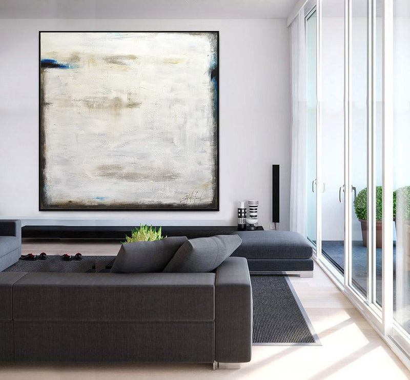 """Lit Up Inside"" Large Abstract Art Contemporary"