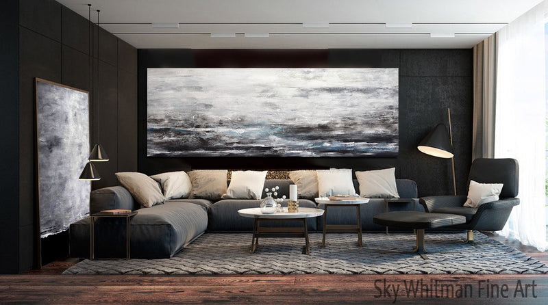 32 x 80 large landscape abstract