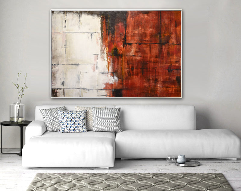 large original abstract painting home decor