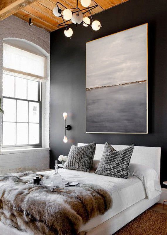 abstract art painting interior design