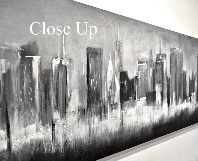 """Urban Playground"" 20x84 Panoramic Cityscape Urban NYC"