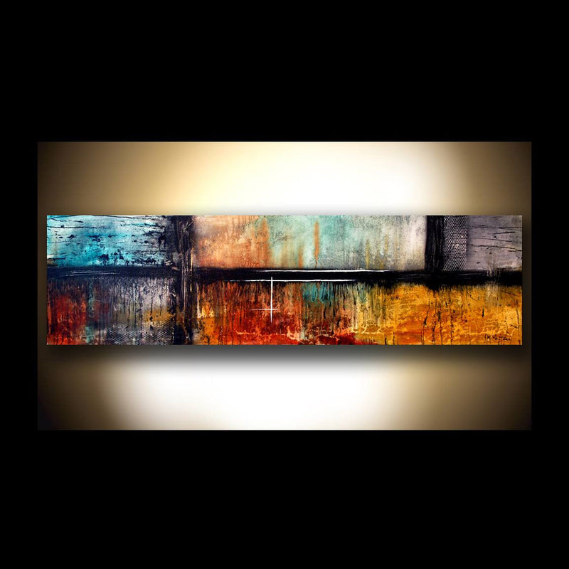 """One"" Private Collection Chaotic Calm Style 20""x72"""