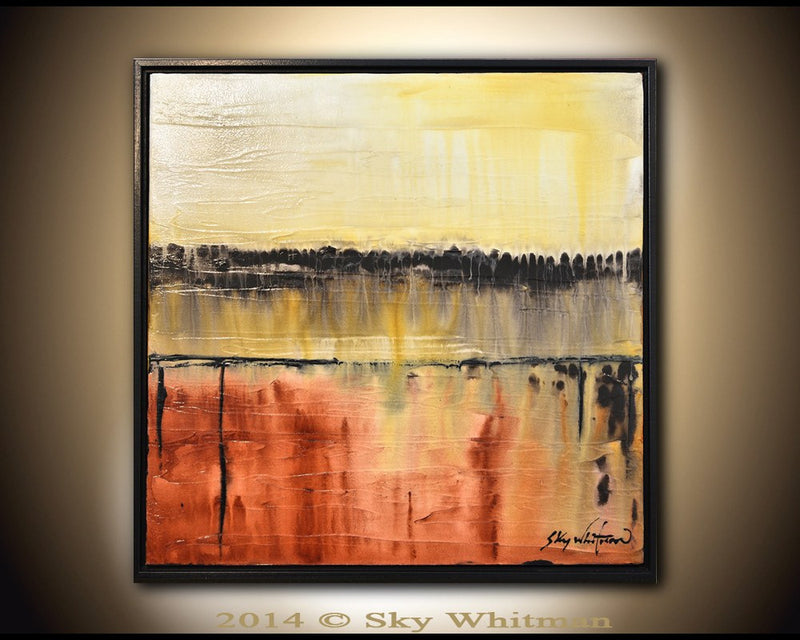 abstract art modern painting original contemporary art Bethany Sky Whitman