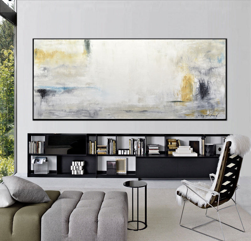 panoramic art huge abstract painting