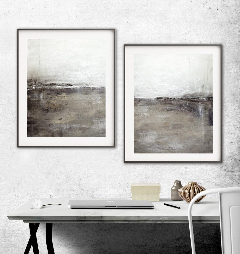 Large XXL printable art abstract prints modern contemporary artwork Sky Whitman
