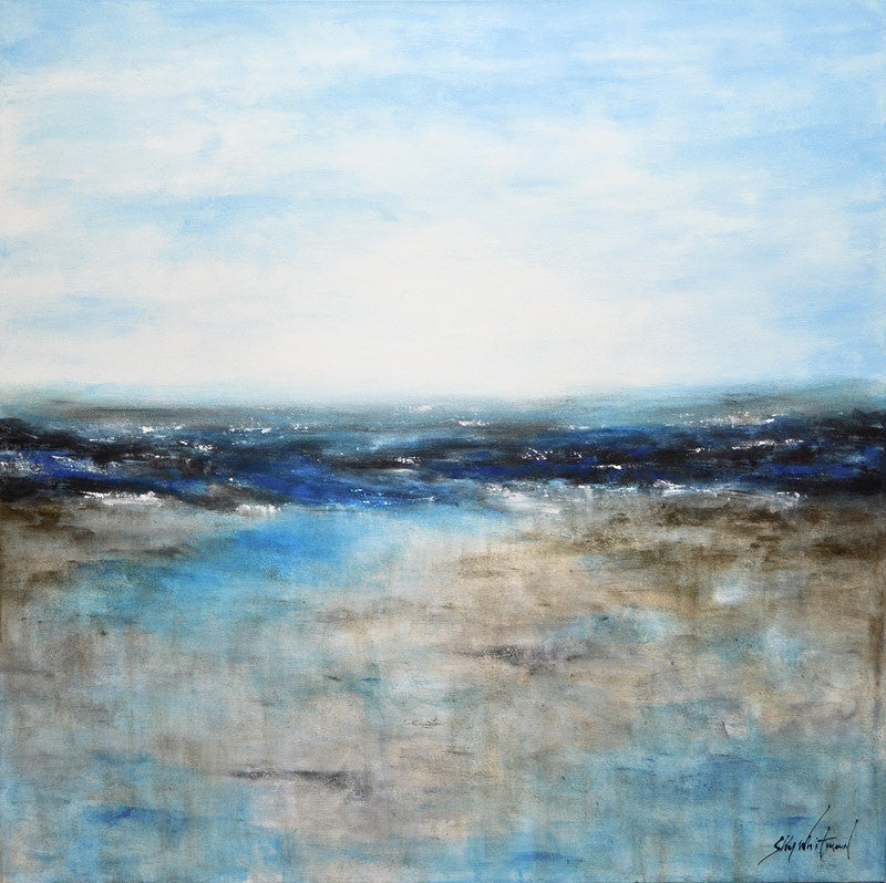 seascape original abstract painting