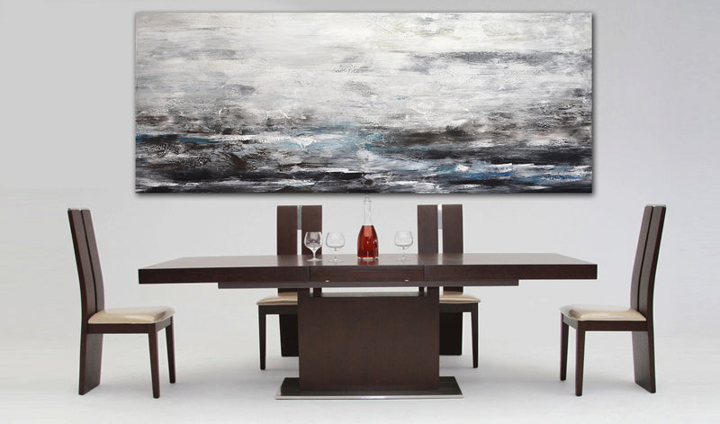 massive panoramic wall art abstract modern art