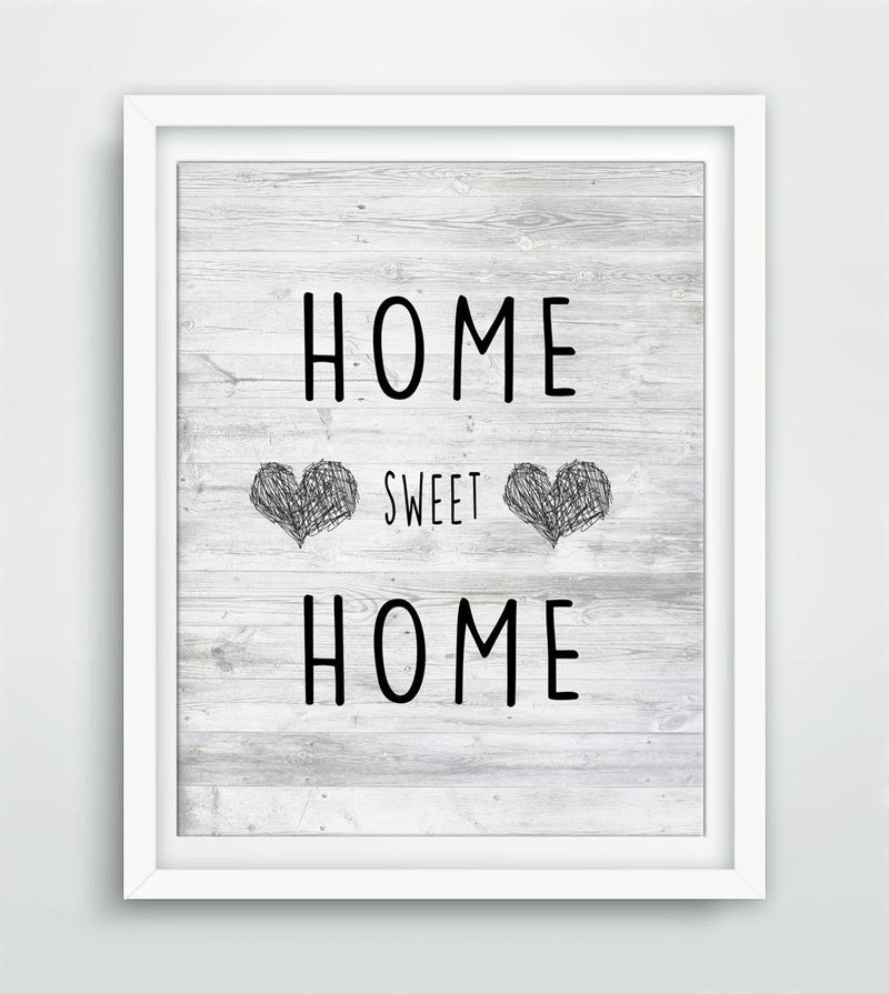 home sweet home art print instant digital print art work home decor nursery art