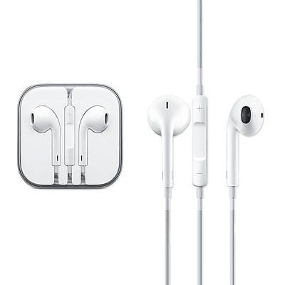 Apple Earphone with Microphone and Remote for iPhone - White